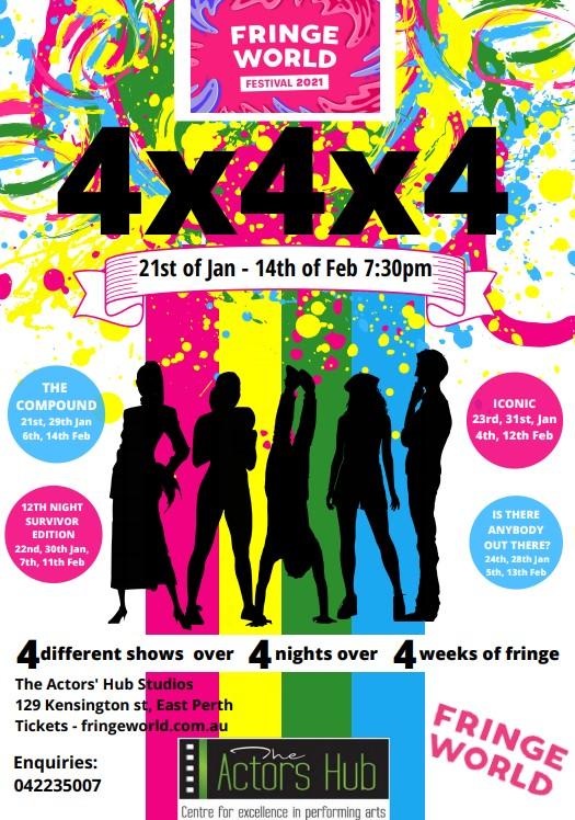 4x4x4 at Fringeworld